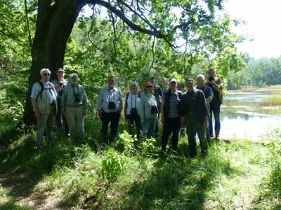Bensheimer Gruppe mit Nieskyern am Waldsee Steinölsa
