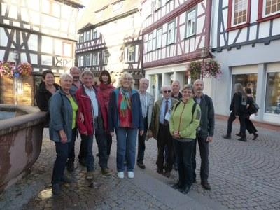 vom Besuch der Oberlausitzer Freunde in Bensheim